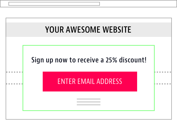 Discount Call To Action